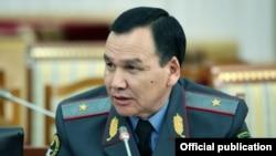 Министр внутренних дел Кашкар Джунушалиев.