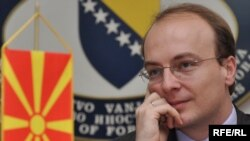Министерот за надворешни работи Антонио Милошоски.
