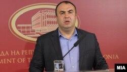 Прес конференција на вицепремиерот за економски прашања, Владимир Пешевски