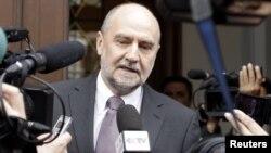 هرمن ناکارتس، معاون مدیرکل آژانس بین المللی انرژی اتمی و رییس هیات مذاکره کننده با هیات ایران