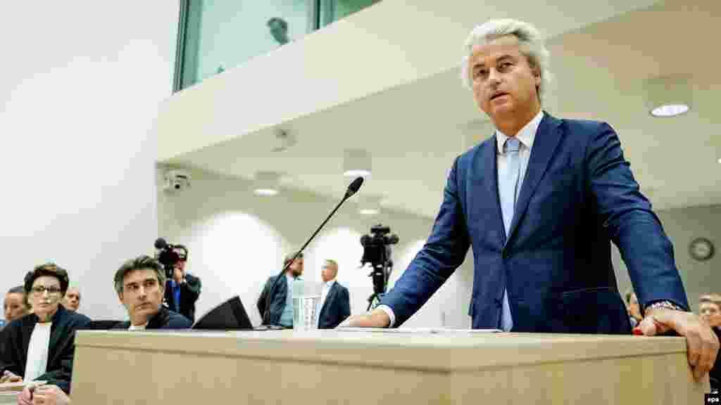 """Герт Вилдерс Нидерланды могут задать тон всем намеченным на 2017 год выборам в Европе, если, как предсказывают опросы, выберут парламент, большинство в котором получит антиисламская Партия свободы. Поскольку другие партии наверняка откажутся вступать с Вилдерсом в коалицию, премьером он не станет. Но победа его партии может """"нормализовать"""" массовое голосование за крайне правых в глазах французских и немецких избирателей, которым предстоит делать свой выбор чуть позже."""