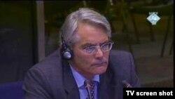 Rupert Smith na suđenju Radovanu Karadžiću, 8. veljače 2011