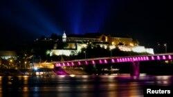 Petrovaradinska tvrđava za vreme održavanja Exita 2013