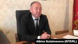 Мэр города Таласа Айдар Жузупбеков.