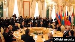 Последний саммит ОДКБ с участием президента Узбекистана Ислама Каримова, Москва, 16 мая 2012 года.
