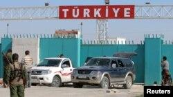 Турецко-сирийская граница. Иллюстративное фото.
