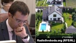 Міністр інфраструктури Володимир Омелян орендує елітний котедж у своєї родички