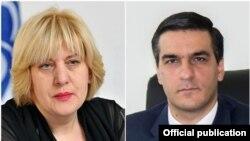 Դունիա Միյատովիչ և Արման Թաթոյան