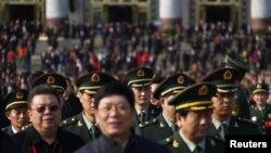Қытайдың жаңа басшысын сайлауға келген делегаттар. Пекин, 8 қараша 2012 жыл.