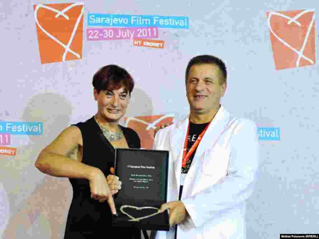 Nedžad Begović dobitnik nagrade Srce Sarajeva za najbolji dokumentarni film