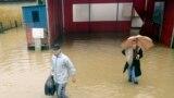 Сильнейшие дожди обрушились в середине мая на юго-восточные страны Европы. Сербия, 16 мая 2014 года.