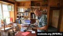 Офіс прафсаюзу РЭП у Менску пасьля ператрусу
