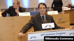 Никос Анастасиадес, нов претседател на Кипар.