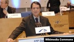 Cyprus President Nicos Anastasiades