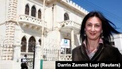 Дафне Каруана Галиция, мальталық журналист.