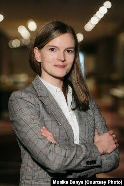 Моніка Банись, речник рекрутингової компанії