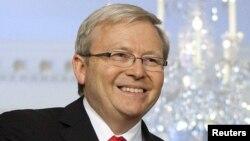 Министерот за надворешни работи на Австралија Кевин Руд