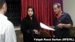 المخرج محمد كمر الاول من اليمين