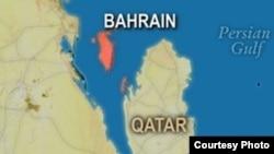 Бахрейннің картасы. Көрнекі сурет.