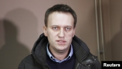 Anticorruption activist Aleksei Navalny was arrested along with fellow opposition leader Sergei Udaltsov.