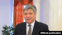 Министр иностранных дел Кыргызстана Эрлан Абдылдаев.