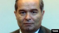 Ислом Каримовнинг 1990 йилдаги расмий портрети.