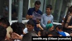 Низомий педагогика университетида қабул жараёнидаги ҳолат