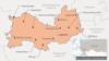 Mordovia -- Map of Mordovia
