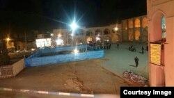 نمایی از صحن بافت تاریخی امیر جخماق یزد. عکس از خبرگزاری میراث فرهنگی