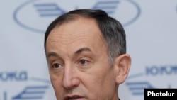 «Հարավկովկասյան երկաթուղիներ» ընկերության տնօրեն Շեւքեթ Շայդուլինը: