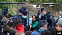 Izbjeglice na hrvatsko-srpskoj granici