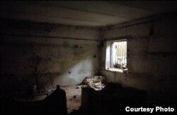 Місце незаконного утримання добровольчого батальйону «Айдар»