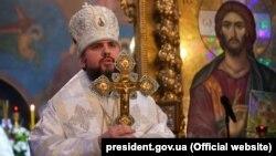 Глава ПЦУ митрополит Киевский и всея Украины Епифаний