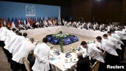 Робочий обід лідерів «Групи двадцяти» у Туречині, 15 листопада 2015 року