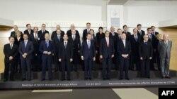 НАТО-ға мүше мемлекеттердің сыртқы істер министрлері. Брюссель, 3 желтоқсан 2013 жыл.