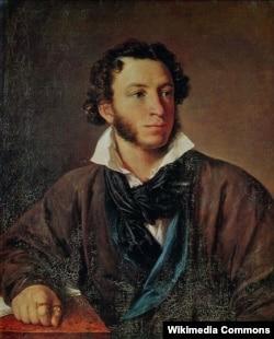 В. А. Тропинин. Портрет Пушкина. 1827