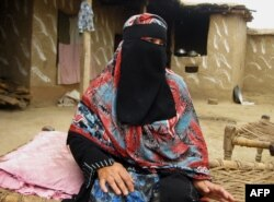 Бадам Зари, первая в истории Пакистана женщина из региона Зона племен, желающая стать депутатом парламента. Один из ключевых пунктов ее программы - борьба за права женщин