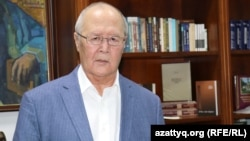 Мурат Ауэзов, культуролог, писатель, бывший посол Казахстана в Китае. Алматы, 4 сентября 2019 года.