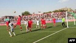 Ауғанстан және Пәкістан ұлттық құрамаларының кездесуі. Кабул, 20 тамыз 2013 жыл.