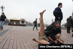 Мәскәүдә каршылык чарасы тиз тәмамланды