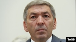 Acting Daghestani Prime Minister Abdusamad Gamidov is among those who have been detained. (file photo)