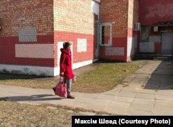 Зафарбаваныя графіці на вуліцах Менску
