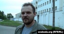 Дмитро Галко після арешту по адміністративній справі – за не підпорядкування міліції після акції опозиції. Мінськ, 2013 рік