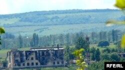 საცხოვრებელი და დამწვარი კორპუსები, ცხინვალი (ნიქოზის მიმდებარე ტერიტორია)