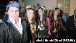Իրաք - Ասորիները Իրբիլում կայացած փառատոնի ժամանակ, սեպտեմբեր, 2012թ.