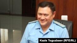 Прокурор Еркін Майшинов. Алматы, 11 шілде 2013 жыл.