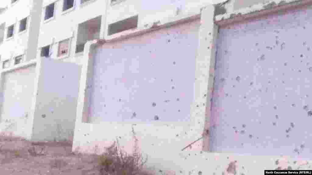Дом, разрушенный ракетными ударами