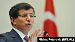 Türkiyənin Xarici İşlər naziri Ahmet Davutoglu