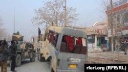 کابل کې د پولیسو په ګاډي ځانمرګې حمله