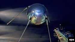 Pamje e satelitit në hapësirë